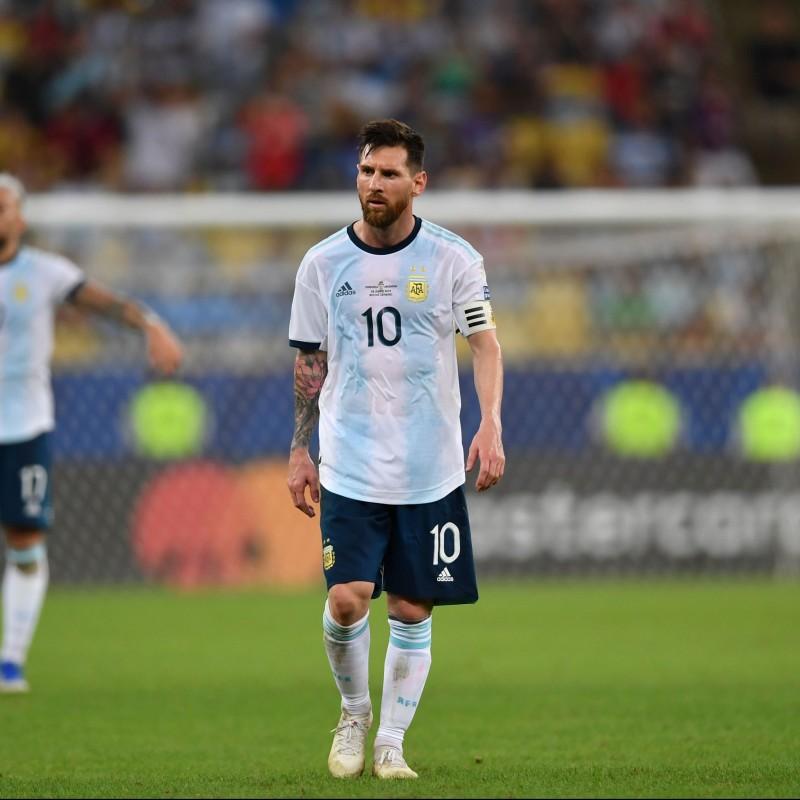 Messi's Argentina Signed Match Shirt, 2019