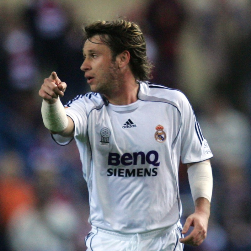 Cassano's Match-Issued/Worn Real Madrid Shirt, 2006/07 UCL