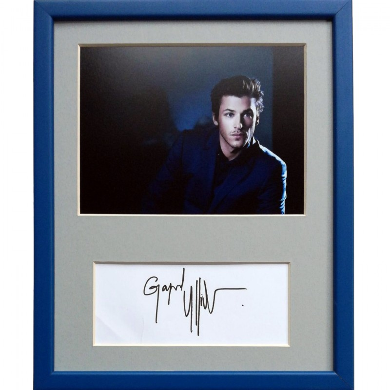 Gaspard Ulliel Signed Photograph