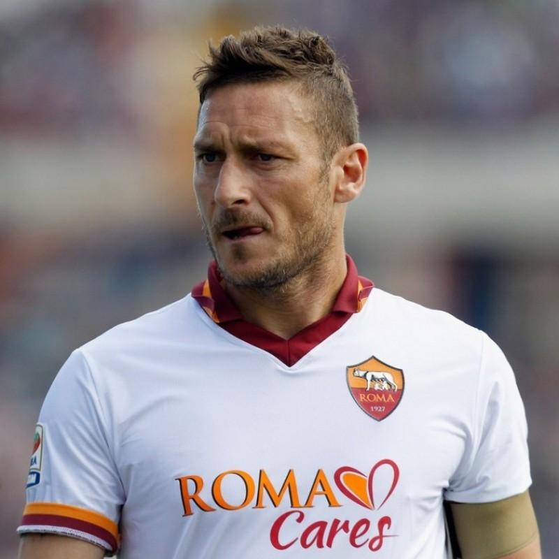 Totti's Roma Signed Match Shirt, 2013/14