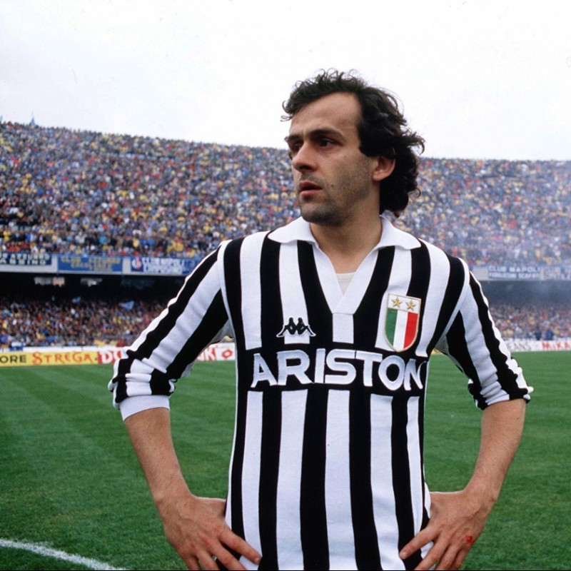Platini Match-Issued/Worn Shirt, Serie A 1984/85