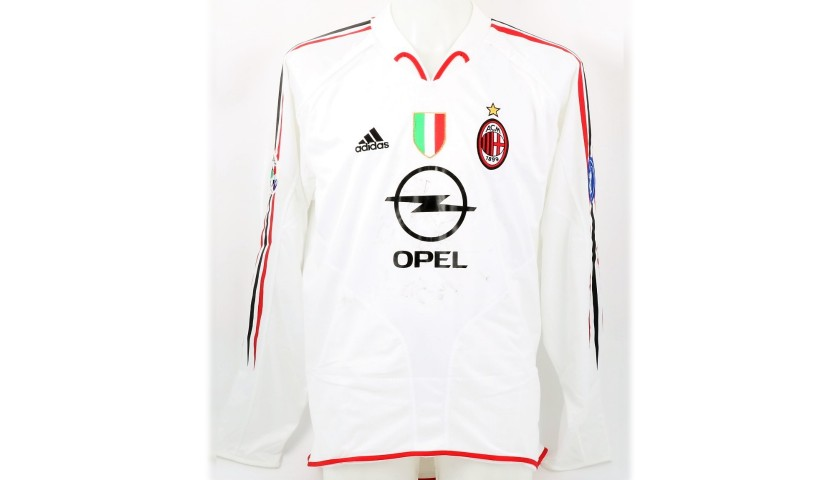 Maldini's Milan Match Shirt, 2004/05