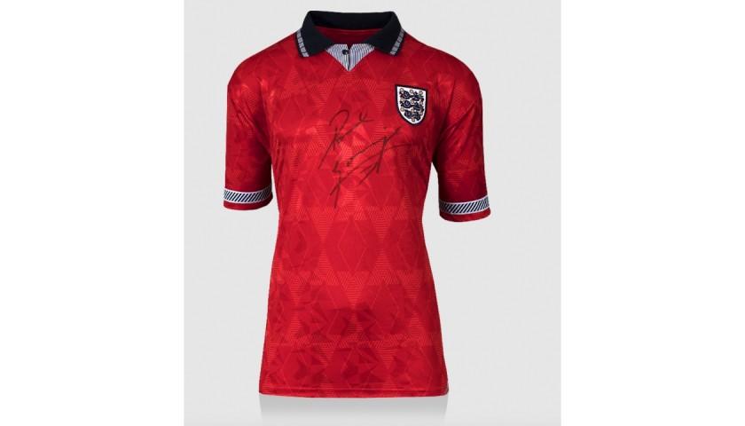 Gascoigne's England 1990 Signed Shirt