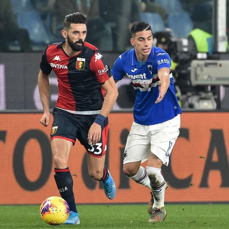 Depaoli's Worn Shirt, Genoa-Sampdoria, Special Gaslini