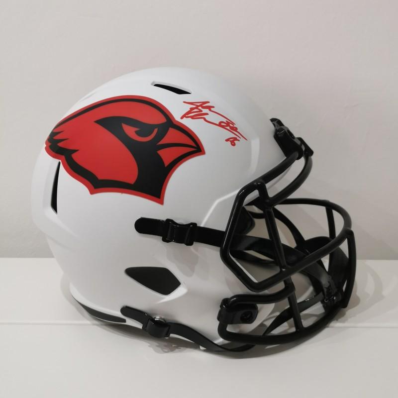 NFL Lunar Full Size Arizona Cardinals Helmet Signed by Jake Plummer