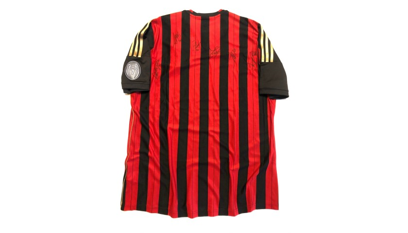 Official Milan Shirt, 2013/14 - Signed by the Players