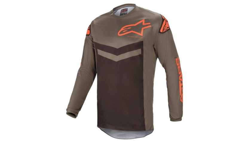 Full Alpinestars Kit and and TWFL Riding Bib Signed by Ortis Deley