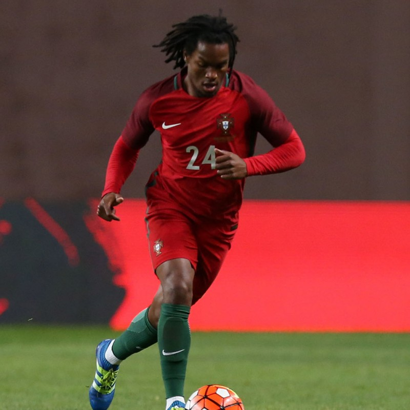 Official Portugal 2016/17 Shirt, Signed by Renato Sanches