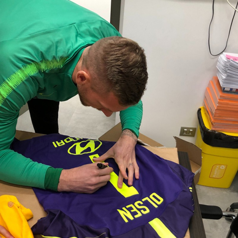 Olsen's Worn Shirt, Spal-Roma, Special Giuliano Taccola