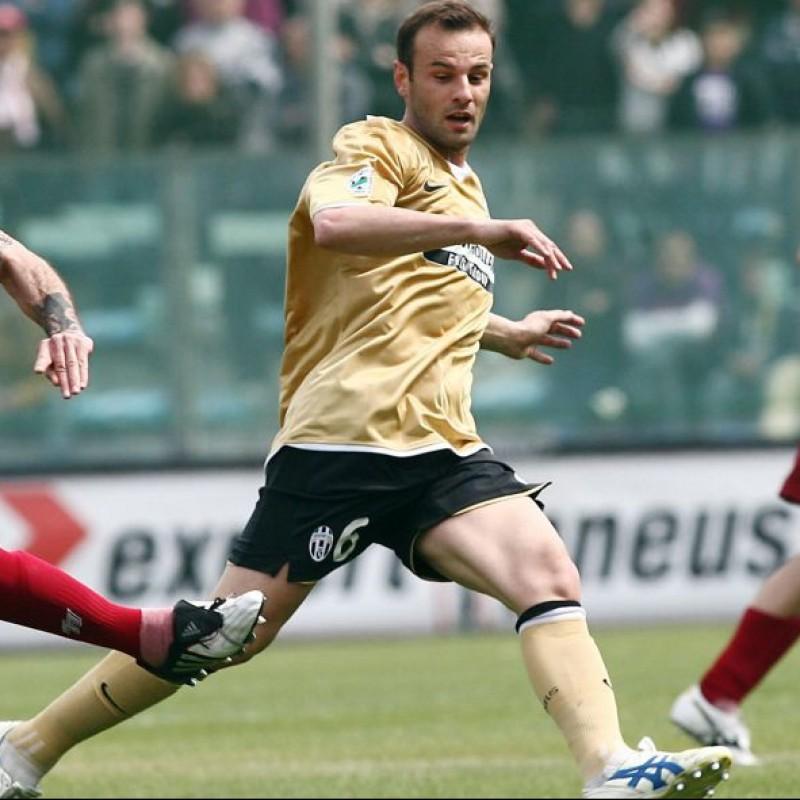 Zanetti's Juventus Match Shirt, Serie A 2008/09