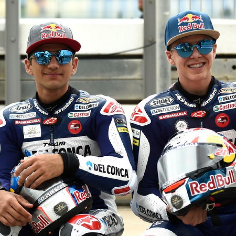 Team Honda Gresini Shirt - Signed by Martin and Di Giannantonio