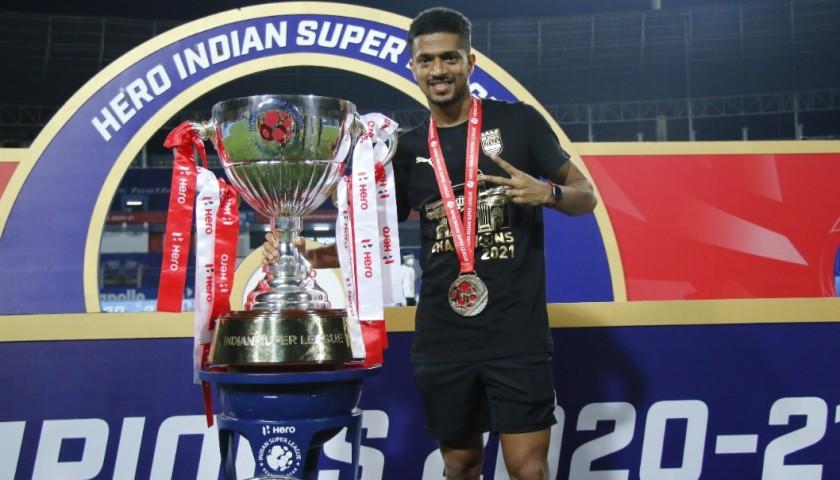 Mumbai City FC Champions '21 Shirt by Puma