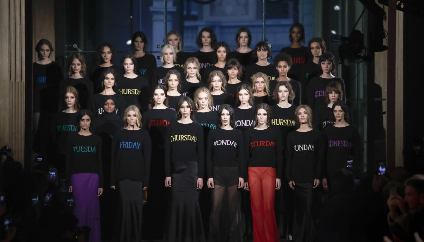 Two Front Row Tickets to the Alberta Ferretti S/S 2018 Fashion Show in Milan