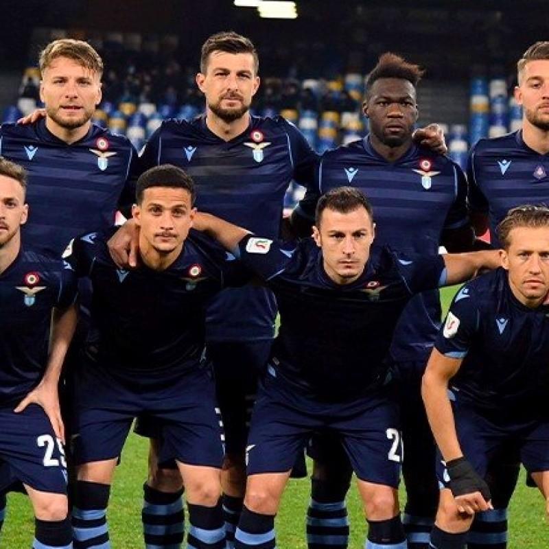 Berisha's Worn Shirt, Napoli-Lazio 2020