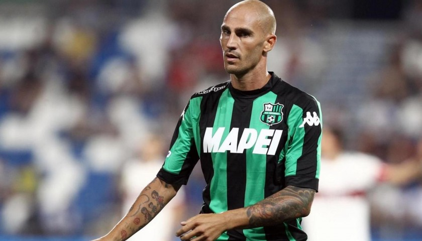 Official Cannavaro Sassuolo Shirt, 2015/16 - Signed