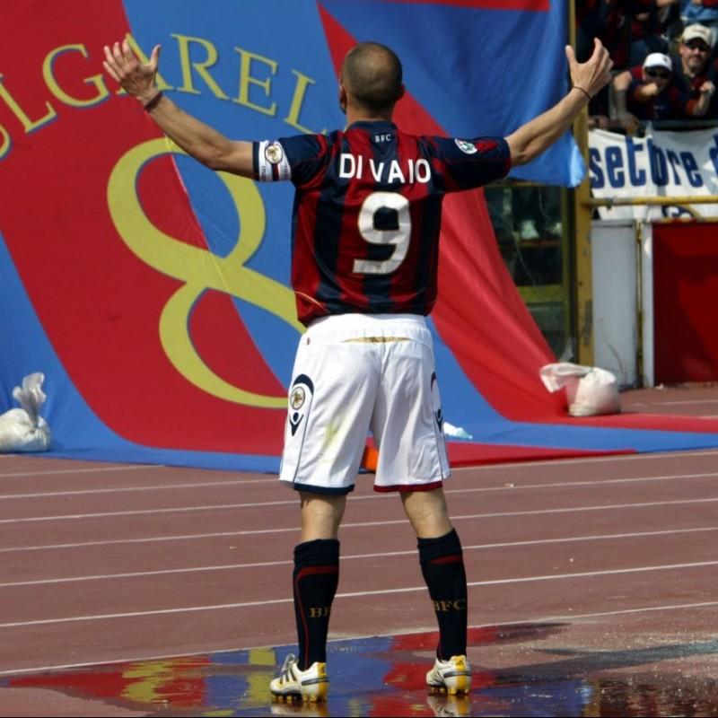 Di Vaio's Bologna Signed Match Shirt, 2009/10 - Centenary