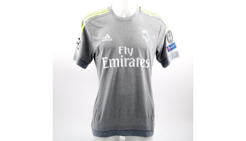 another chance ef97a a8b8e Luka Modric Real Madrid Issued / Worn Shirt, Champions League 2015/16 -  CharityStars