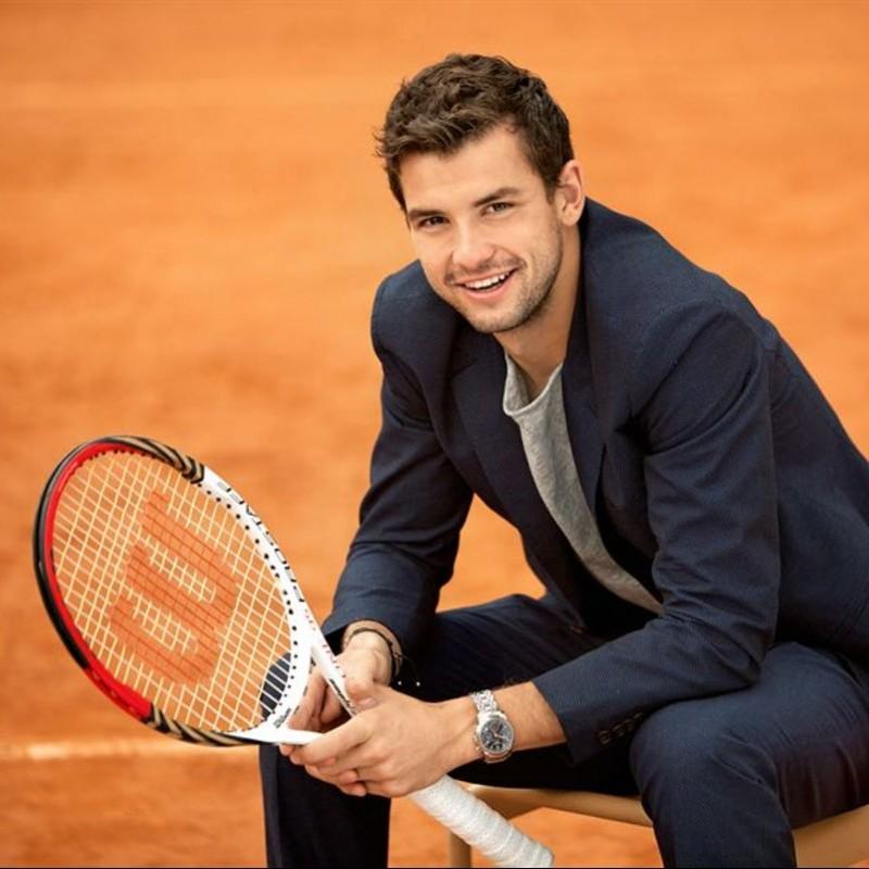Wilson Tennis Racquet Signed by Grigor Dimitrov