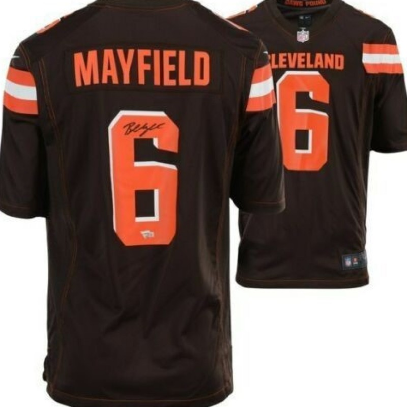 Baker Mayfield Hand Signed Cleveland Browns Jersey