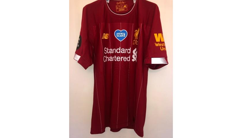 """Arnold's Liverpool Match Shirt, 2019/20 - """"Black Lives Matter"""""""