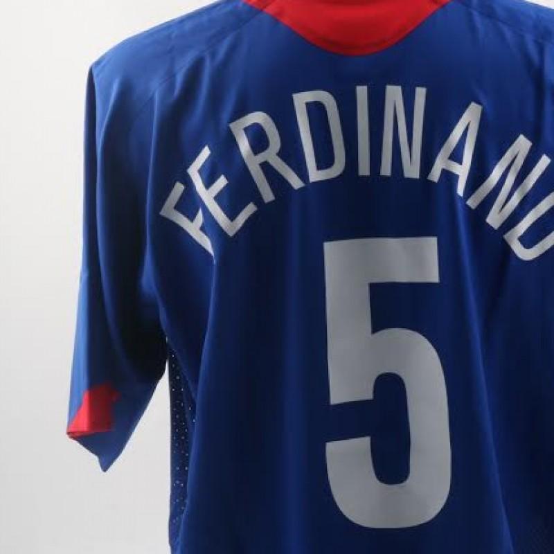 Match issued/worn Rio Ferdinand, Champions League 2005-06