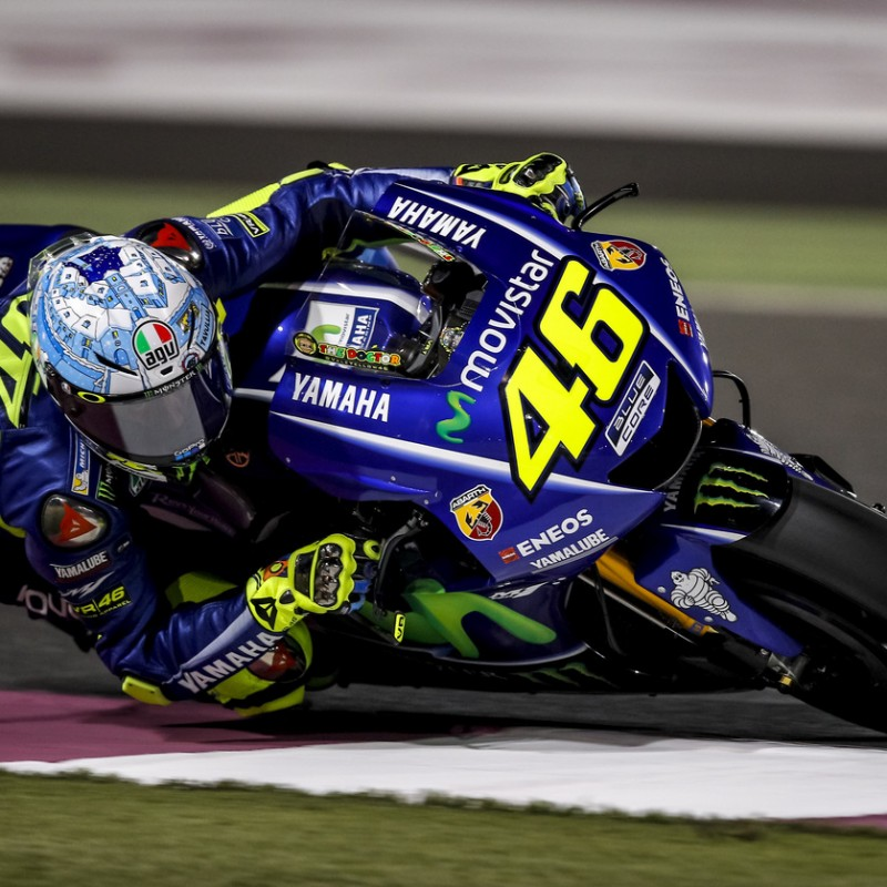 Slider Signed by Valentino Rossi