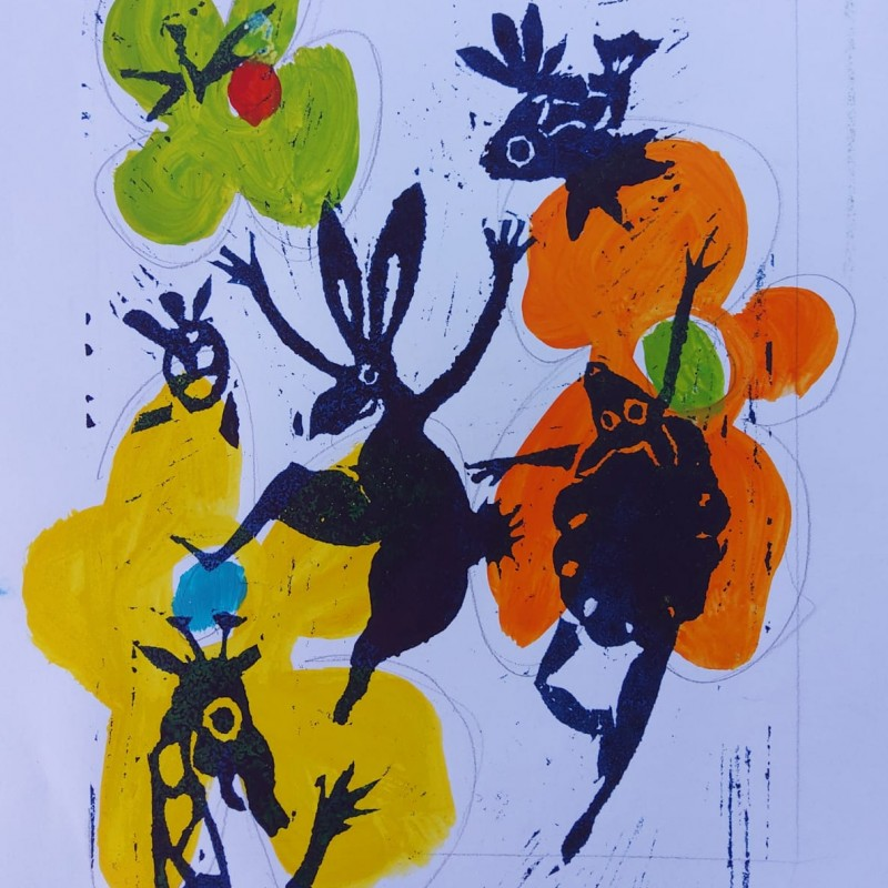 """""""La Nature en Fête"""" by Cécile Guicheteau"""