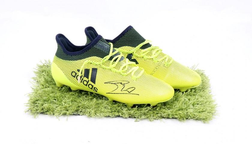 Scarpe Adidas Candreva, indossate Serie A 201718 Autografate CharityStars