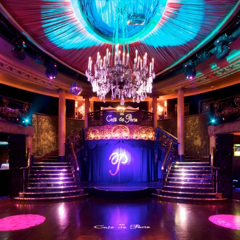 VIP Café de Paris Dining, Show and Club Experience for Four People