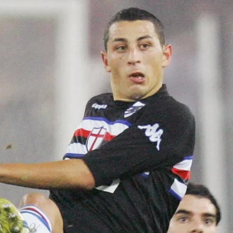 Palombo's Worn Shirt, Lazio-Sampdoria 2006