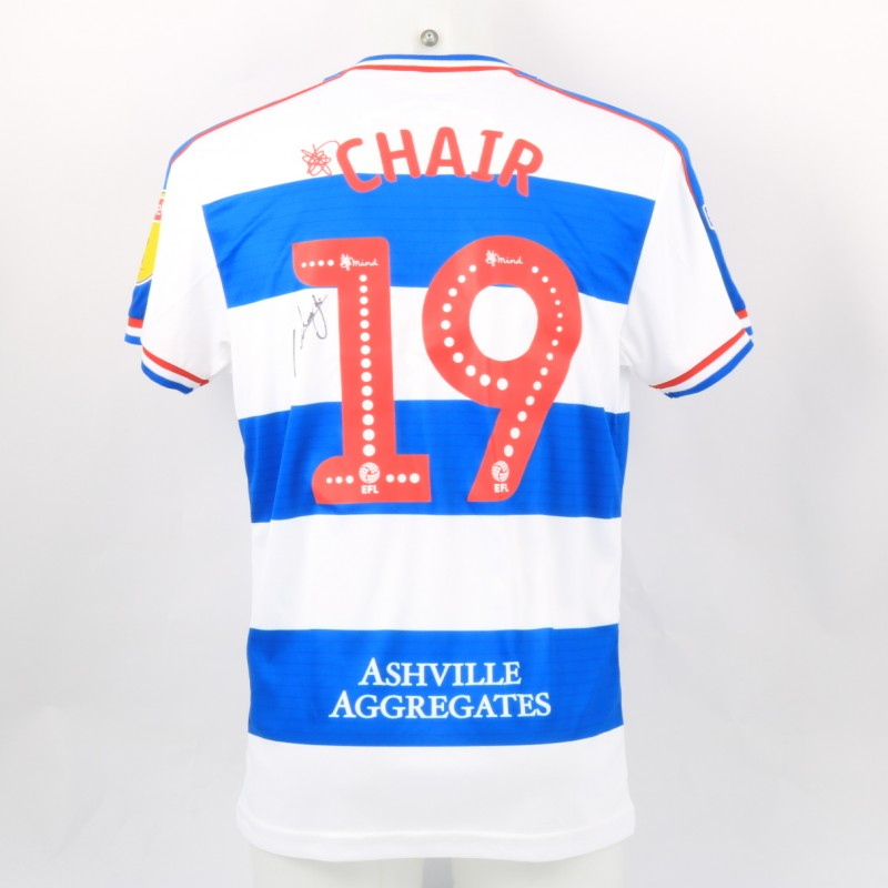Chair's Queens Park Rangers Match-Issued Signed Poppy Shirt