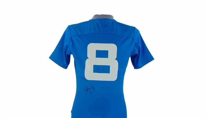 Signed Sergio Parisse World Cup Shirt