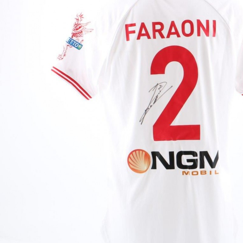 Faraoni's Perugia match issued shirt, Serie B 2014/2015 - signed