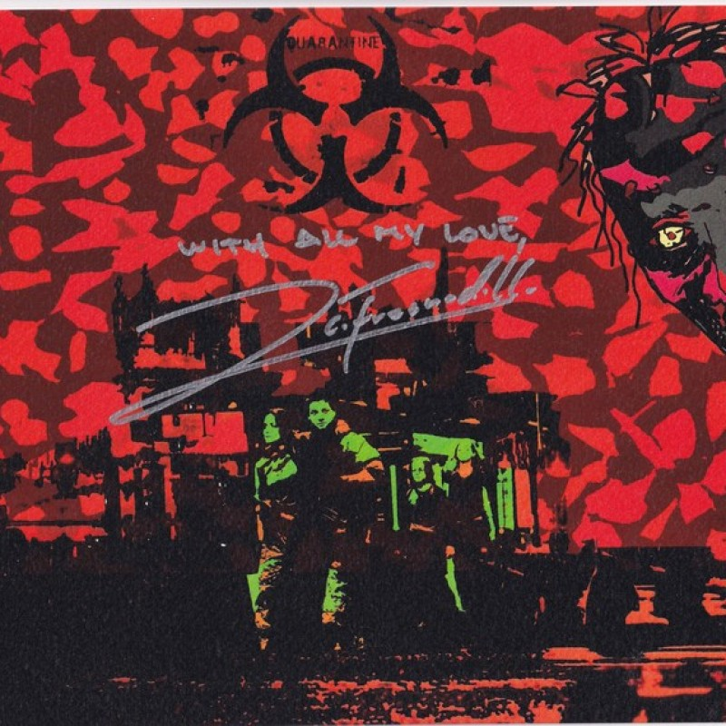 """28 weeks later"" Original Limited Edition Board by G.Karloff - Signed by Juan Carlos Fresnadillo"
