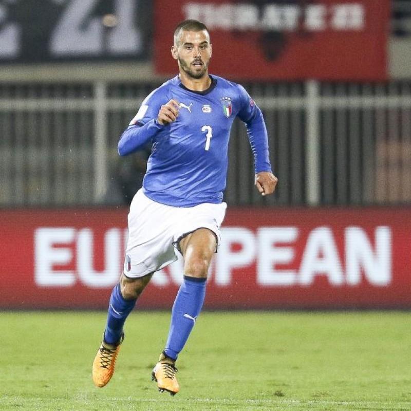 Spinazzola's Match Shirt, Albania-Italy 2017