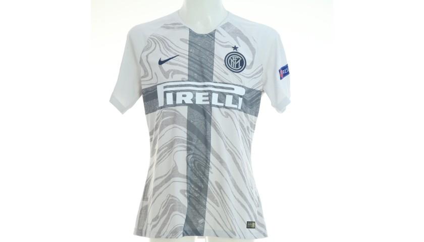 Icardi's Inter Match Shirt, UCL 2018/19