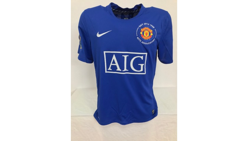 Berbatov's Official Manchester United Signed Shirt, 2008/09