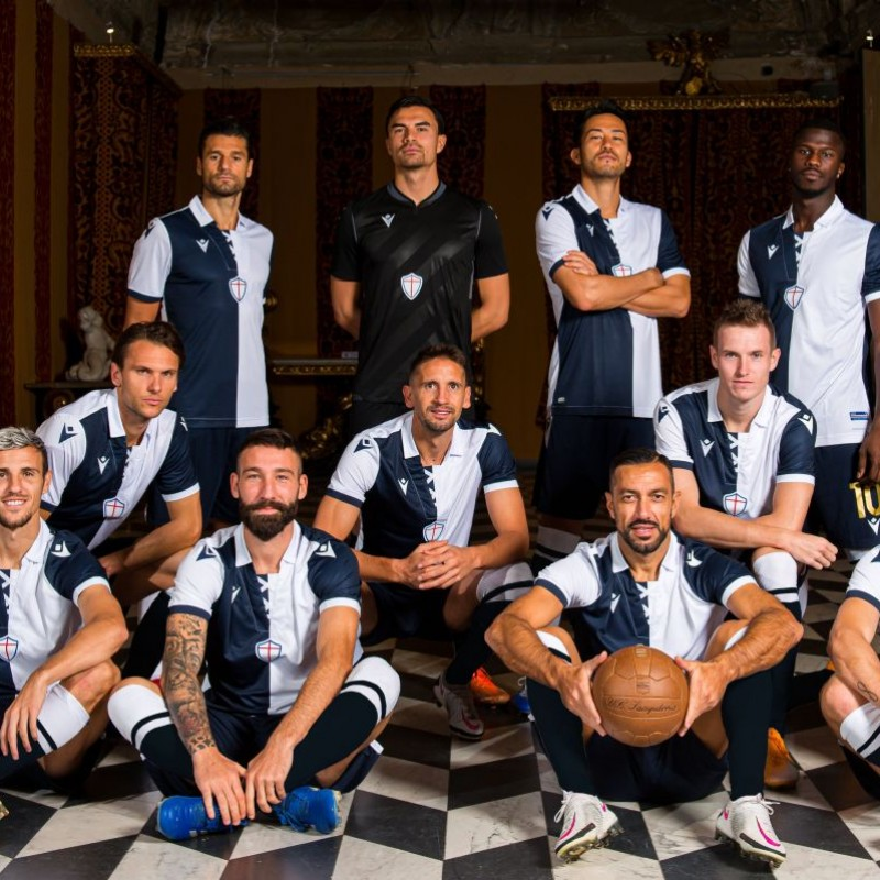 Ramirez's Match-Issued Kit, Sampdoria-Milan 2020, SPECIAL 120 Years Andrea Doria