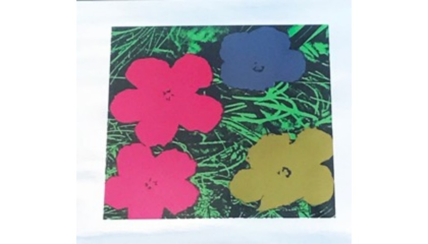 """""""Flowers"""" by Andy Warhol"""