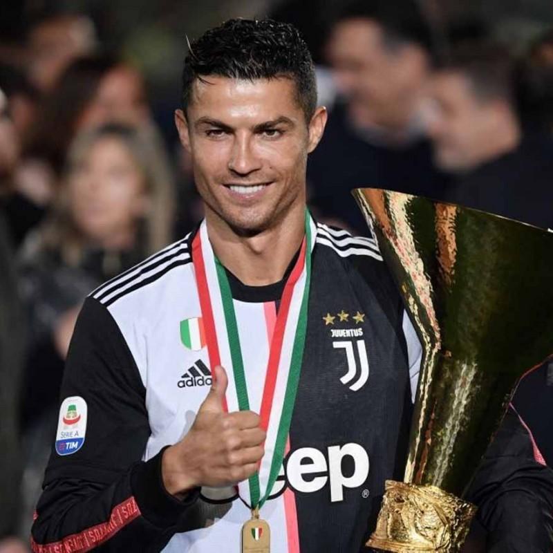 Ronaldo's Juventus Match Shirt, Serie A 2018/19