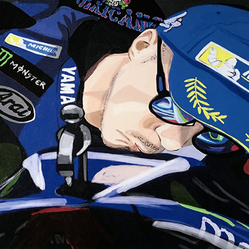 """Maverick Viñales: Race 5, Le Mans"" by Tammy Gorali"