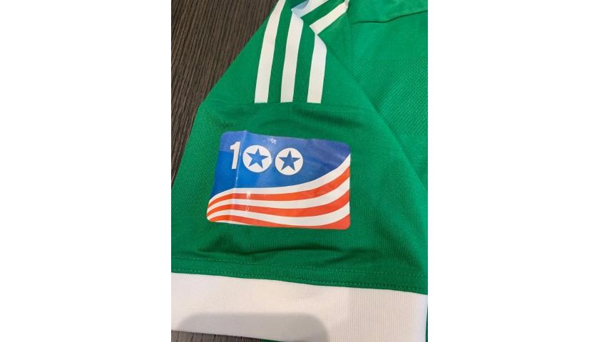Aogo's Germany Signed Match Shirt, 2012