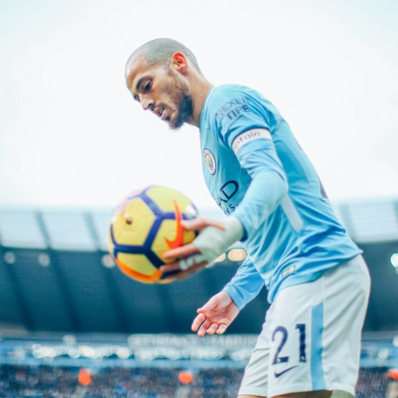 Manchester City Legend David Silva Unique Picture