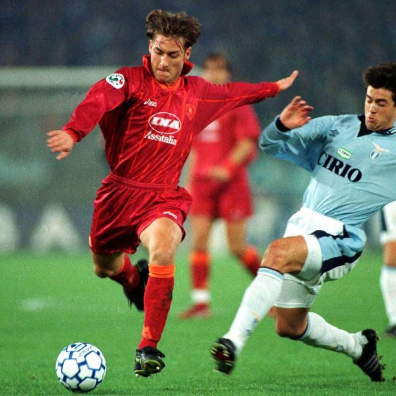 Totti's Roma Worn Shirt, Serie A 1996/97