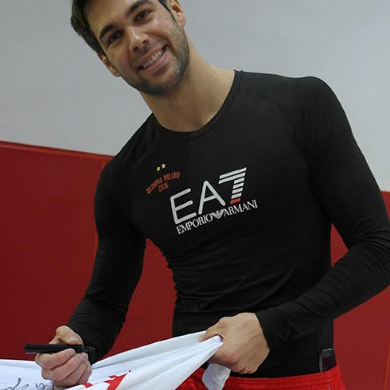 Signed Olimpia Milano shirt