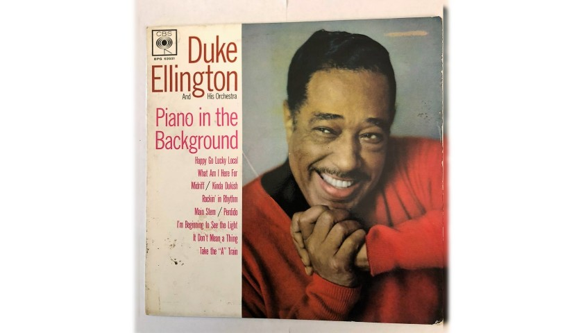 """Piano in the Background"" LP by Duke Ellington, 1962"