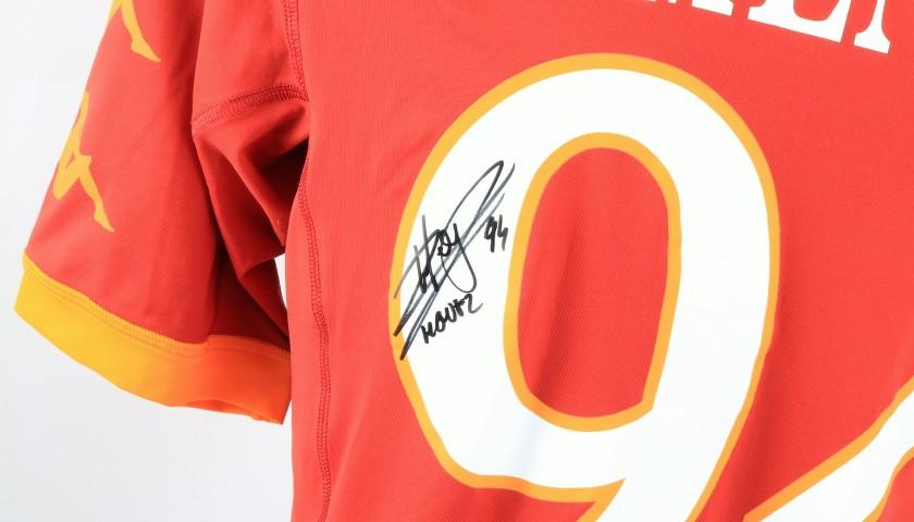 Menez's Roma Signed Match Shirt, Serie A 2010/11