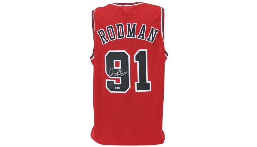 Dennis Rodman Signed Jersey