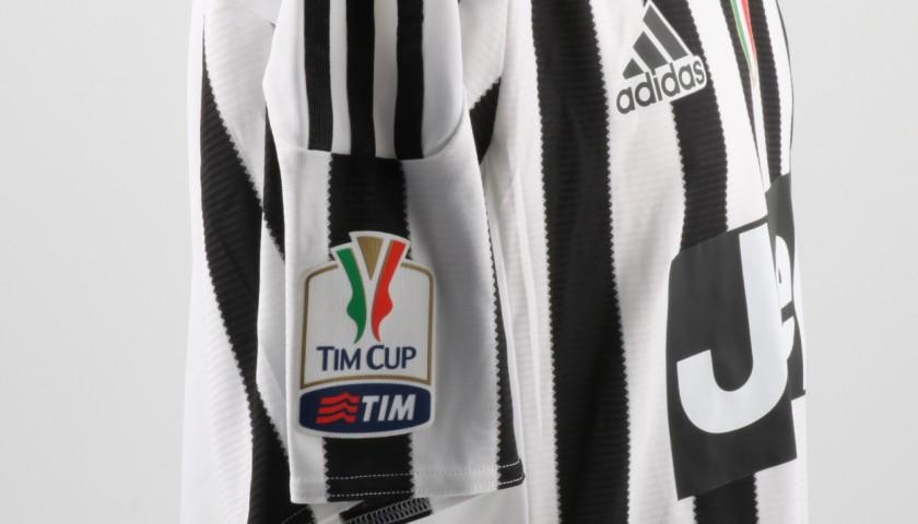 Morata Juventus shirt, issued/worn Tim Cup 2015/2016
