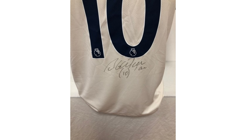 Aguero's Official Manchester City Shirt, 2020/21 - Signed